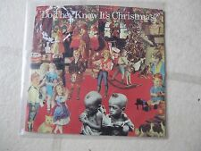 "BAND AID 1985 ""Do They Know/Christmas?"" ORGL US 7"" PICTURE SLEEVE MINTY FRESH"