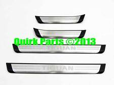 2009-2017 VW Volkswagen Tiguan Door Sill Protection Guards Set 5N0071303 OEM NEW