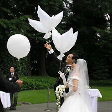 1Flying Pigeon Bird Animal Helium Balloons 41inch Peace Dove Wedding Xmas HU