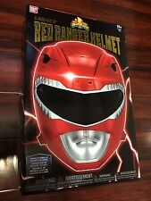 NEW Mighty Morphin Power Rangers Legacy Red Ranger Helmet prop replica WEARABLE