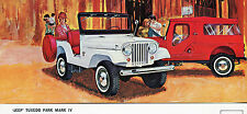 1965 Jeep Tuxedo Park Mark IV Advertising Postcard