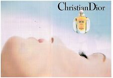 Publicité Advertising 1993 (2 pages) Parfum Dune par Christian Dior