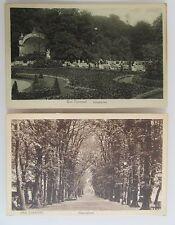 Postkarten Lot 2 alte Ansichtskarten BAD PYRMONT Niedersachsen ~1930 ungelaufen