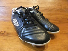 Umbro speciali Classic Black Leather Football Boots Size UK  6 EUR 40