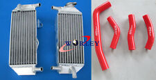 Aluminum Radiator +Hose For Honda CRF250R CRF250 2010 2011 2012 2013 2010-2013