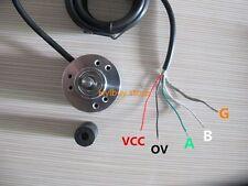 Encoder 1000P/R Incremental Rotary Encoder AB phase encoder 6mm Shaft W coupling