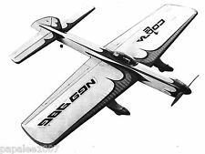 "Model Airplane Plans (UC): COBRA 7 56"" Stunt for .46 Steve Wooley / Bill Werwage"