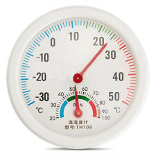 HOT! Indoor Outdoor Thermometer Temperature Meter Wet Hygrometer Humidity