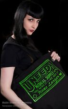 UNEEDA MEDICAL SUPPLY ZOMBIES RECORD TOTE BAG HORROR