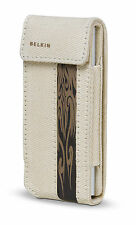 Belkin Canvas Flip Case for Ipod Nano 1G 2G 1st 2nd Gen TAUPE/BROWN F8Z128-bt