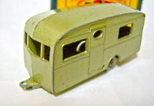 Matchbox No.23B Berkeley Caravan extremly rare metallic green version boxed