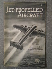 JET PROPELLED AIRCRAFT - REAL PHOTOGRAPHS CO LTD - P/B - UK POST £3.25