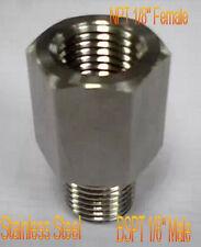 """BSPT Male to NPT Female 1/8"""" Adapter Turbo Oil Pressure Sensor Gauge Fuel Gas 2Z"""