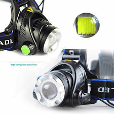 5000LM Zoomable CREE XM-L T6 LED 18650 HeadLamp Torch HeadLight Rechargeable