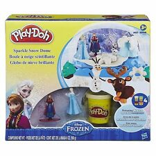 Play-Doh Disney Frozen Sparkle Snow Dome Ice Castle with Elsa and Anna!