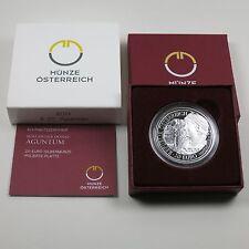 Österreich 20 Euro 2011 Silber PP Aguntum
