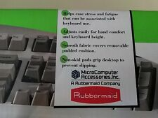 Rubbermaid Ajustable Teclado Posa Muñeca