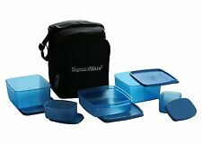 SIGNORAWARE TRENDY LUNCH  WITH BAG (547)(BLUE) - BEST LUNCH FOR EXECUTIVE PEOPLE