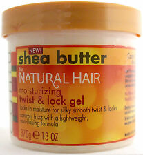 CANTU SHEA BUTTER FOR NATURAL HAIR MOISTURIZING TWIST & LOCK GEL 13 OZ.
