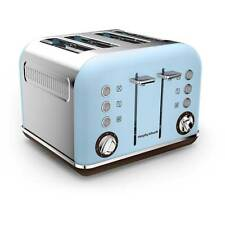 Morphy Richards 242100 Accents Special Edition Toaster Azure New