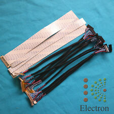 15pcs/set Universal LVDS FFC Cable for LCD Monitor Screen Support 12-32'' Panel
