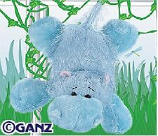 NEW! Webkinz Ganz Blue HIPPO Full Size Plush Toy with Sealed Unused Code