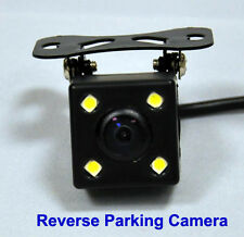 Night View Color Rear Reverse Mini Camera for Reversing Parking with LED Lights