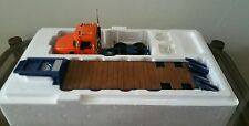1/34 First Gear MACK Granite Tractor with Lowboy Trailer Tollway Truck FREE POST
