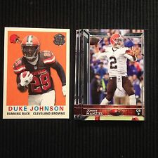 2015 TOPPS CLEVELAND BROWNS MASTER TEAM SET 13 CARDS  TOUGH INSERTS +