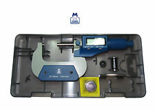 """MOORE AND WRIGHT DIGITRONIC MICROMETER 25-50MM 1-2 """" MW200-02DBL MYFORD"""