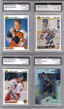 Peter Forsberg 1991-92 Upper Deck #64 ROOKIE Graded Gem Mint 10 FGS Flyers RC