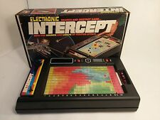Vintage 1978 Electronic Intercept Search & Destroy Game Original Box