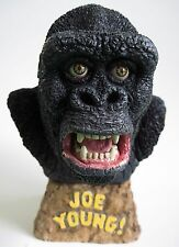 MIGHTY JOE YOUNG Ray Harryhausen + Willis O'Brien MODEL BUST Mick Wood PRO BUILT
