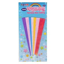 Jong Ie Nara Origami Rainbow Star Folding Paper : Shiny