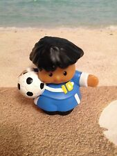 FISHER PRICE LITTLE PEOPLE SPORT MICHAEL SOCCER FIGURE