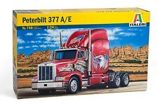Italeri 740 1/24 Scale Model Truck Kit Peterbilt 377 A/E
