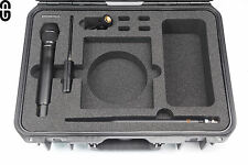 Shure QLX-D / ULX-D Single Set Case inkl. Inlay; foam inlay; Outdoor Case