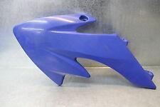 Mini Dirt Pocket Bike Side Cover Plastic Radiator Shroud Left LH Blue Cowl