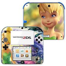 Disney Tinkerbell Vinyl Skin Sticker for Nintendo 2DS - 005