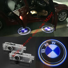 2x Ghost LED Door Step Courtesy Shadow Laser Lights For BMW 1 3 5 7 Series X3 X5