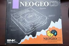 SNK NEO GEO CD console Japan import system boxed US seller