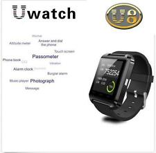 Black Bluetooth Smart Watch Phone Mate For iPhone Samsung HTC LG Lumia Nexus