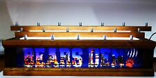 LIGHTED 18 BEER Tap handle display CHICAGO SKYLINE - BEARS LED 3 LEVELS