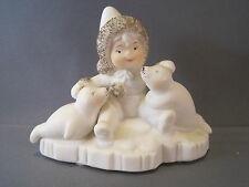 Wellington Collection Tykes On Ice Figurine With 2 Seals Collectible
