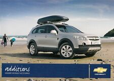Chevrolet Accessories 2009 UK Market Brochure Matiz Aveo Lacetti Epica Captiva