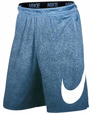 Nike Talistatic Fly Blue Print Dry Fit Basketball Shorts - 836011 - Mens Small