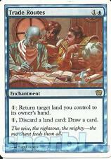 MTG Magic the Gathering TCG 9th Ninth Edition Trade Route Enchantment Blue 108