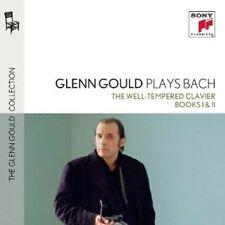 GLENN GOULD - BACH: DAS WOHLTEMPERIERTE KLAVIER 1&2 (GG COLL 4) 4 CD NEU BACH