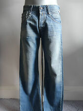 Replay M973 'Syrret' Light acid bleached wash denim 30
