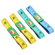 4PCS Body Measuring Ruler Sewing Cloth Tailor Tape Measure Soft Flat 60Inch 1.5M